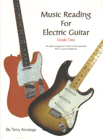 Music Reading For Electric Guitar (Grade 1)