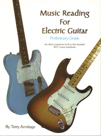 Music Reading For Electric Guitar (Prelim Grade)